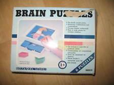 Battat Pre School Brain Puzzles -Age 3+ -6 Puzzles