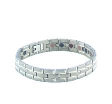 Authentic Pur Life Negative Ion Bracelet Elegant Anium Silver Purelife