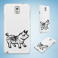 PIG SKETCH HARD CASE FOR SAMSUNG GALAXY ACE 3/4/ALPHA