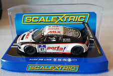 SCALEXTRIC C3160 AUDI R8 LMS #97 Ltd 145/202 Hornby Visitor Center new in box