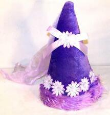 1 LITTLE KIDS PURPLE PRINCESS DRESSUP HAT girls new childrens costurme HEADWEAR