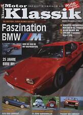 Motor Klassik 6/03 Kabinenroller BMW M Peugeout 304 Cabriolet