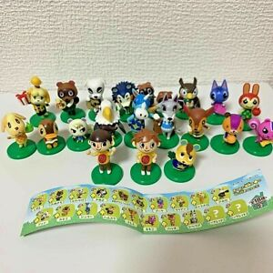 NEW Animal Crossing Choco Egg Full Complete lot of 20 Figures From Japan
