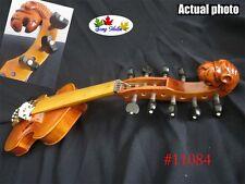 SONG Brand Maestro 5×5 strings viola d'Amore 4/4 violin carved neck #11084