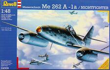 Revell 1:48 Messerschmitt Me-262A-1a. First Jet Fighter. Kit.Nr. 04509.