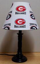 University of Georgia Bulldogs NCAA Sports Lamp Shade & Lamp Football 659 Sports