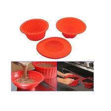 Moldes y bandejas de color principal rojo de silicona para horno
