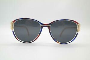 Vintage Rodenstock 345 Gold Multicoloured Oval Sunglasses Glasses NOS