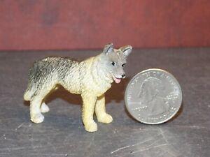 Dollhouse Miniature Dog German Shepard 1:12 scale Animal Dollys Gallery F25