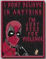 Deadpool Violence Morale Patch Tad Gear Motus Marsec Tactica Outfitters