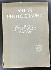 1905 Book Art in Photography Special summer number of The Studio