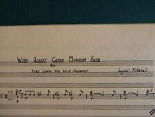 Lyndol Mitchell - When Johnny Comes Marching - Oversize Score - Amer. Wind Sym.