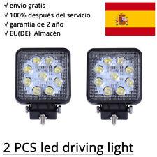 2 X 27W LED Faros de trabajo Lámpara Plaza luz de niebla de camión Work Light
