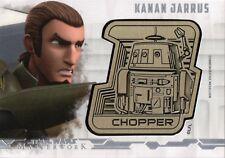 Star Wars Masterworks 2017, Droid Medallion Card 'Kansan Jarrus' #12/25