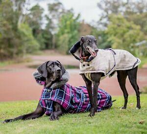 'AVERY' Custom Designer Dog Coat For large & giant breeds (great dane)