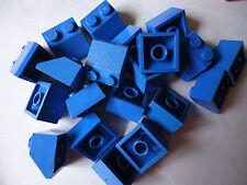 Lego 45. 2 X 2 X 20 azul de la pendiente parte 3039 (algunos Dis Color)