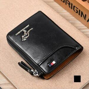 Multifunction RFID Blocking Wallet Anti-theft Swipe Card Anti-magnetic Purse Bag