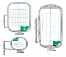 3pc Sewing Embroidery Hoop Set For Brother SE-270D SE-350 SE400, SE425 SE625