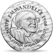 2020 France €10 Euro Silver Proof Coin Women of France: Sister Emmanuelle