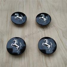 Ferrari 360 430 458 California Centre Wheel Caps Set (4pcs)Grossy Black