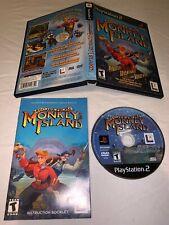 Escape From Monkey Island Sony PlayStation 2 CIB w/Reg. Card & TESTED! *NICE*