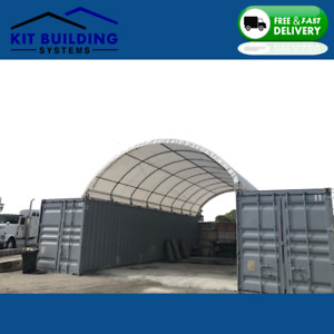 Container Canopy Shelter Storage Building Portable Workshop Cover 20ft 40ft