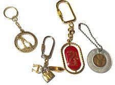 Lot Vintage Key Rings - Las Vegas Club, Humane Society of the US, Hong Kong