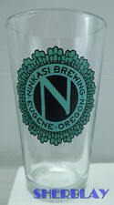"Ninkasi Brewing Company 16oz Beer Pint Glass Tumbler Eugene Oregon 5 3/4"""