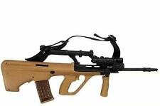 1/6 Scale Recon Steyr AUG Tan and Black Machine Gun loose