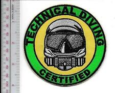 SCUBA Hard Hat Commercial Diver Technical Diving Certified Diver Specialists sm