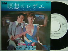 PROMO WHITE LABEL / SCORPIONS IS THERE ANYBODY THERE? / 7INCH