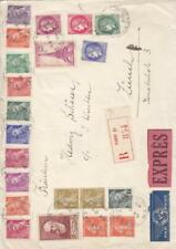 1939, Paris, France to Zurich, Switzerland, Registered, See Remark (9425)