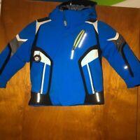Obermeyer Cobra Kids Blue Snow Jacket Toddler Blue Black Size 4