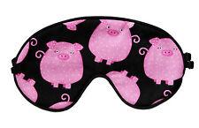 Travel Eye Sleep/Sleeping Mask - PINK PIGS  crafted by Graggie Australia*GA