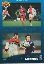 S12 CHAMPIONS LEAGUE # SAISON 94-95 ITALIA MILAN.AC CARD CARTE PANINI FOOT 1996