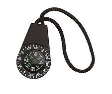 New Black Mini Compass w/ Zipper Pull Attachment Loop - Zipper Pull Compass
