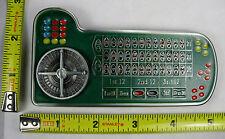 COLOR ROULETTE TABLE BELT BUCKLE ROULETTE WHEEL NEW LAS VEGAS GAMBLING  B567