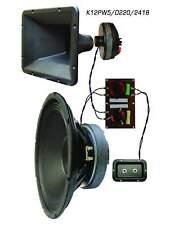 High power PA system kit, model: K12PW5/D220/2418