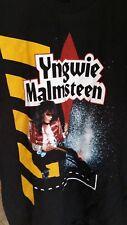 YNGWIE MALMSTEEN 1990 Eclipse North Amer Tour vintage licensed concert shirt LG