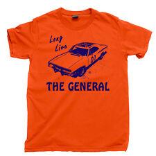 DUKES of HAZZARD T Shirt GENERAL LEE Dixie Air Horn Southern Flag Rebel Yall Tee