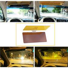 Car Anti-Glare Goggle Day & Night Vision Driving Mirror Sun Visors Clip Board Ne
