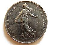 1964 France One (1) Franc Coin