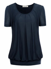 Unbranded Polyester Solid T-Shirts for Women