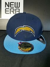 low priced 6b50b 6c4b8 San Diego Chargers New Era 59Fifty Fitted Official NFL Draft Hat Cap Size 7