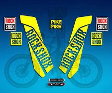 Aufkleber Gabel Rock Shox Pike AM46 Aufkleber Decals