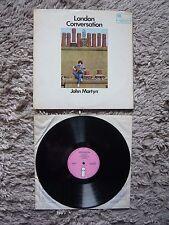 John Martyn London Conversation UK Mono 1969 Island Pink I Vinyl LP A1/B1 Matrix