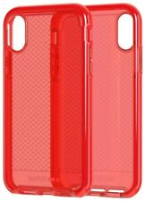 """Tech21 Evo Wave Series Flexible Gel Case Cover for Apple iPhone 5.8"""" Bright Red"""