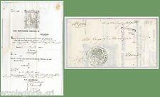 LOMBARDO VENETO - STORIA POSTALE - BUSTA in FRANCHIGIA da MAROSTICA 1862