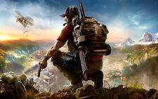 """015 GHOST RECON - WILDLANDS Shoot Gun FPS Hot Game 38""""x24"""" Poster"""