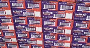 Cadbury Boost Protein Bars 24 x 49g Best Before 25/11/2020